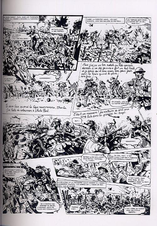 La grande guerre de Charlie T1 : La Bataille de la Somme - 1 (0), comics chez Délirium de Mills, Colquhoun