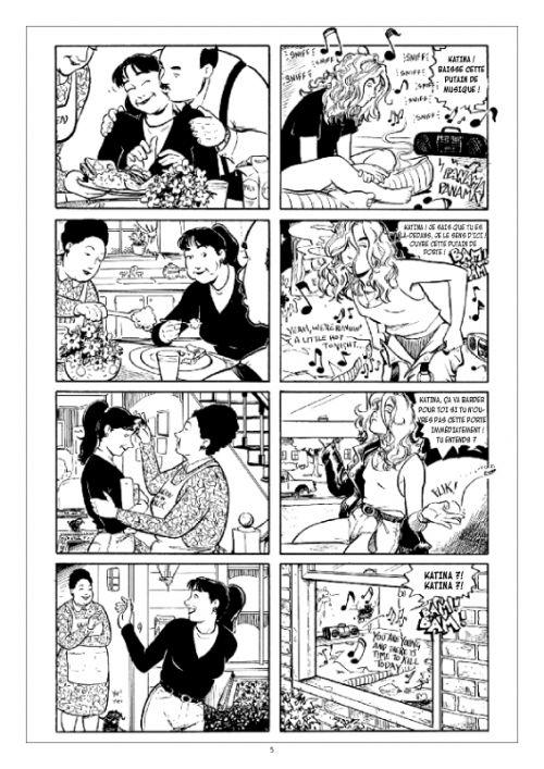 Strangers in paradise – cycle , T6 : Les années lycées (0), comics chez Kyméra de Moore