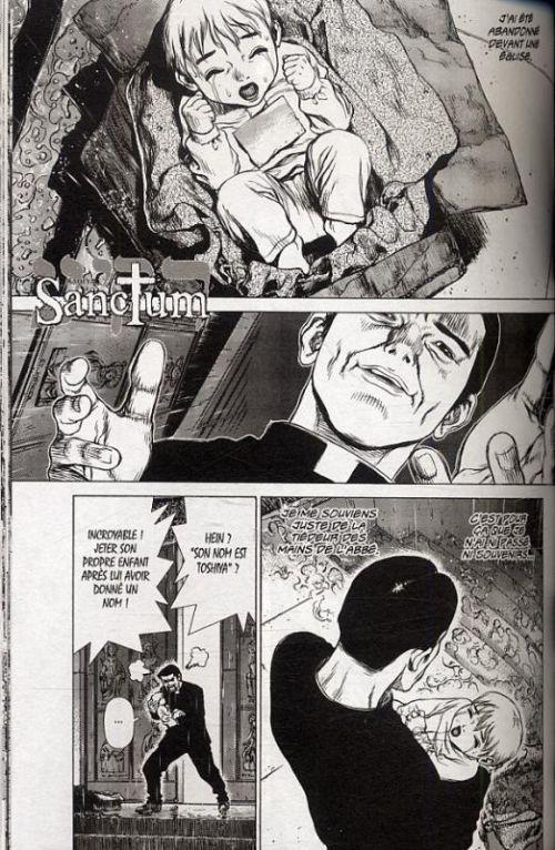 Sanctum T1, manga chez Glénat de Yajima, Boichi