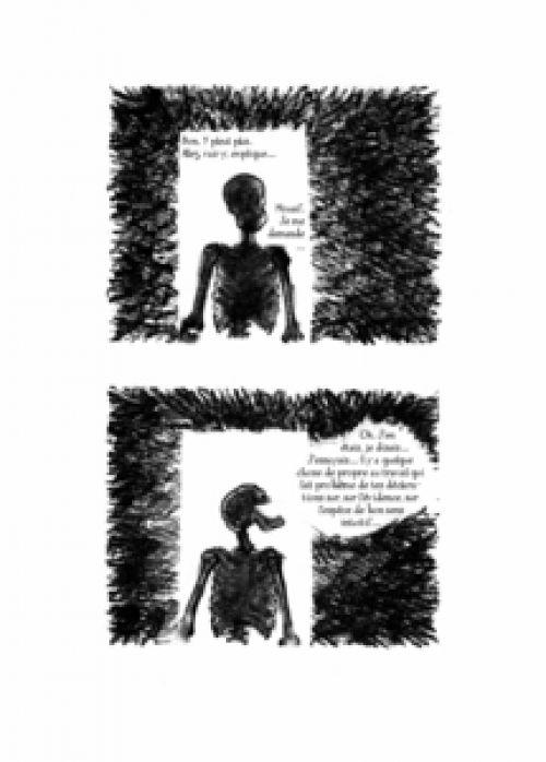 Dialogues de morts à propos de musique, bd chez Scutella Editions de de Mars