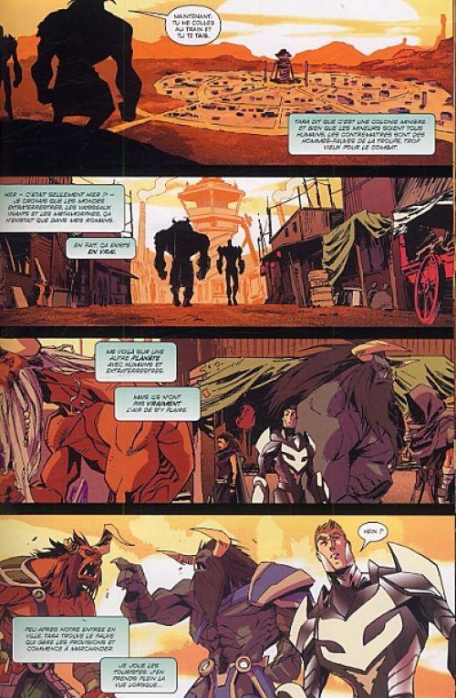 Starborn T2, comics chez Emmanuel Proust Editions de Roberson, Lee, Scalera, Randolph, Gerads