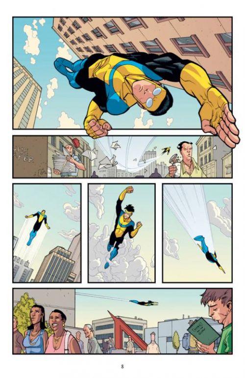 Invincible T7 : Mars attaque ! (0), comics chez Delcourt de Kirkman, Ottley, FCO Plascencia