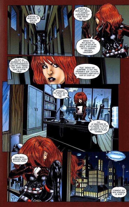 Anna Mercury T1, comics chez Glénat de Ellis, Percio, Waller, Digikore studio, Juan Jose Ryp, Duffield