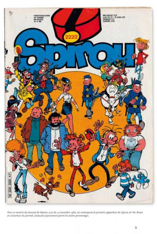Spirou et Fantasio T12 : 1980-1983 (1), bd chez Dupuis de Cauvin, Nic