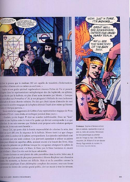 Alan Moore, une biographie illustrée, comics chez Dargaud de Moore, Millidge, Collectif, Quitely