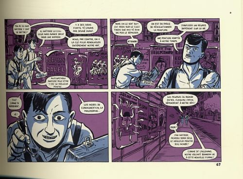 Le Salon, comics chez Cambourakis de Bertozzi