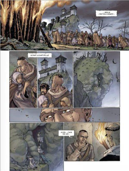 Cathares T2 : Chasse à l'homme (0), bd chez Glénat de Falba, Bono, Fogolin