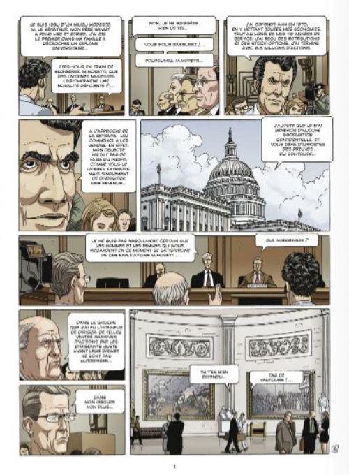 Secrets bancaires USA – cycle 2, T3 : Rouge sang (0), bd chez Glénat de Richelle, Hé, Dupeyrat, Lambin
