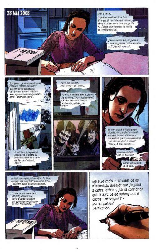 N., comics chez Glénat de Guggenheim, King, Maleev