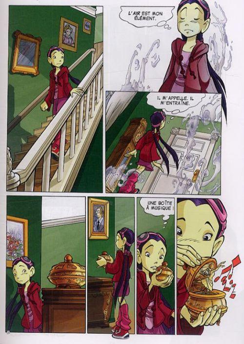 Witch – Saison 1, T4 : Le Pouvoir du feu (0), bd chez Glénat de Collectif