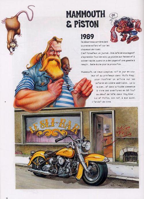 Litteul Kevin : 20 ans de bulles et de motos (0), bd chez Le Lombard de Coyote