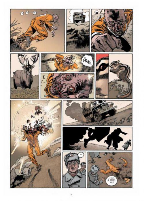 Nu-Men T1 : Guerre urbaine (0), bd chez Soleil de Neaud, Maffre