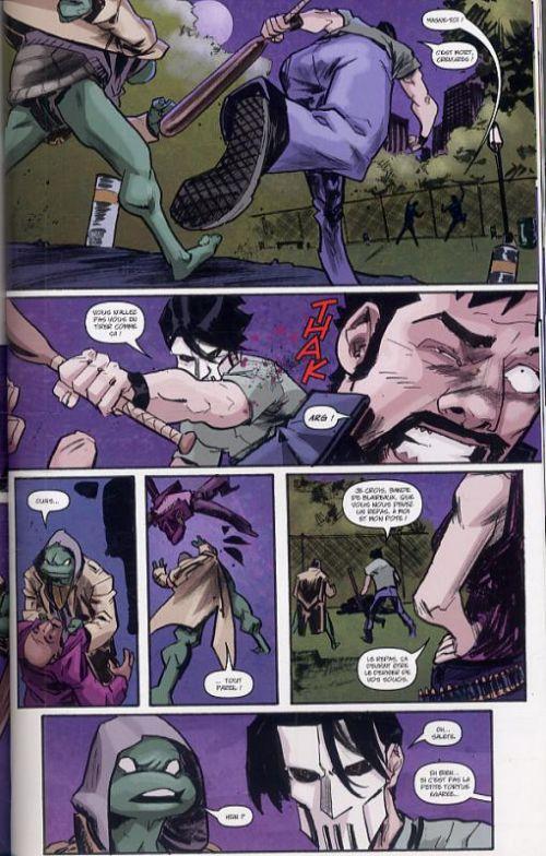 Les Tortues Ninja T1 : Nouveau départ (0), comics chez Soleil de Waltz, Eastman, Duncan, Pattison