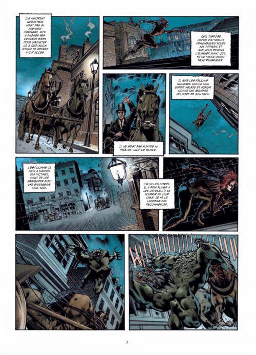 La Mandragore T1 : Une porte sur l'Enfer (0), bd chez Soleil de Cordurié, Santucci, Rossbach