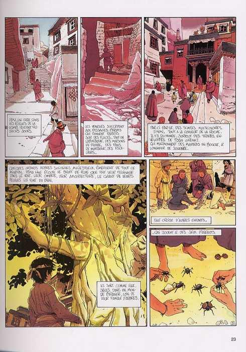 Pema Ling T1 : De larmes et de sang (0), bd chez Dupuis de Bess