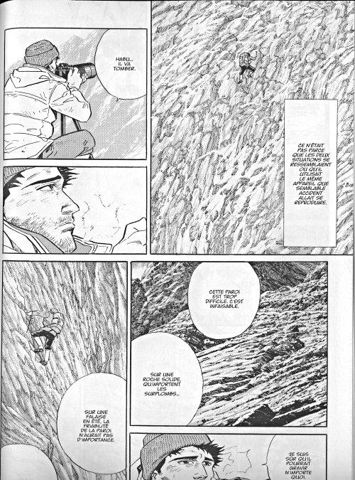 Le sommet des dieux T5, manga chez Kana de Taniguchi