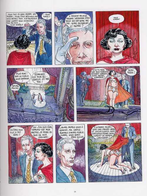 La femme du magicien, bd chez Casterman de Charyn, Boucq