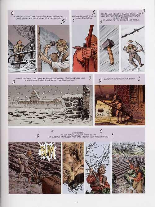Secrets de sang T1 : Les 4 vies d'Arnold Paul (0), bd chez Casterman de Dedic, Fernandez