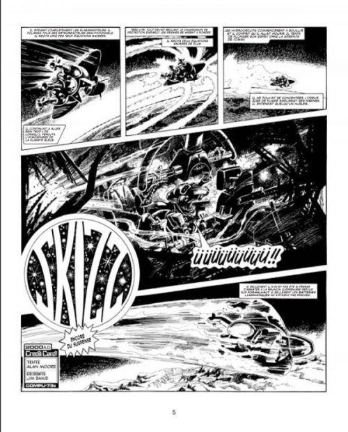 Les Archives d'Alan Moore : Skizz (0), comics chez Soleil de Moore, Baikie