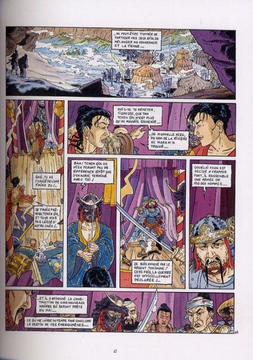 Le vent des dieux T2 : Episode 2 (tomes 6 à 9) (1), bd chez Glénat de Cothias, Gioux