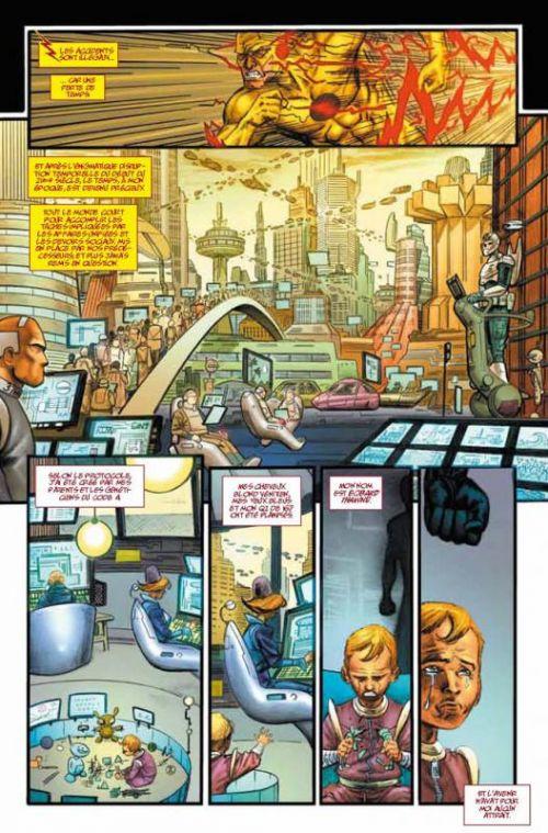 Flashpoint T1, comics chez Urban Comics de Johns, Kubert, Manapul, Sinclair, Atiyeh, Buccellato