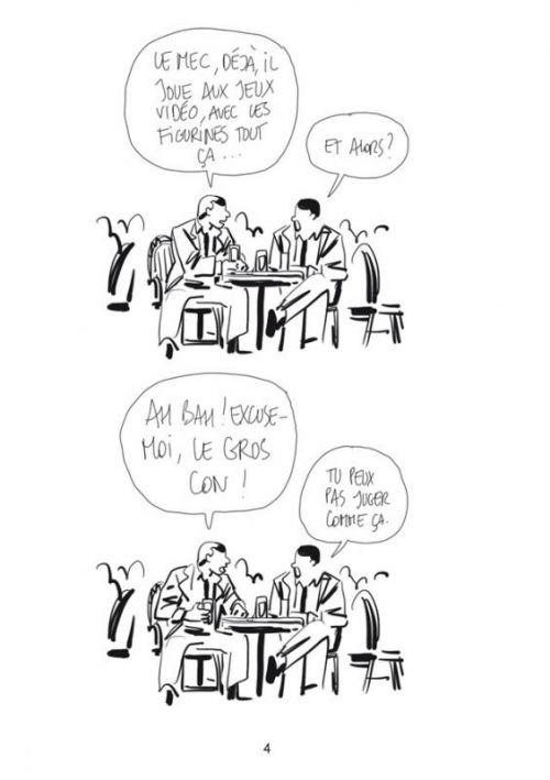 Bastien Vivès T1 : Le Jeu vidéo (0), bd chez Delcourt de Vivès