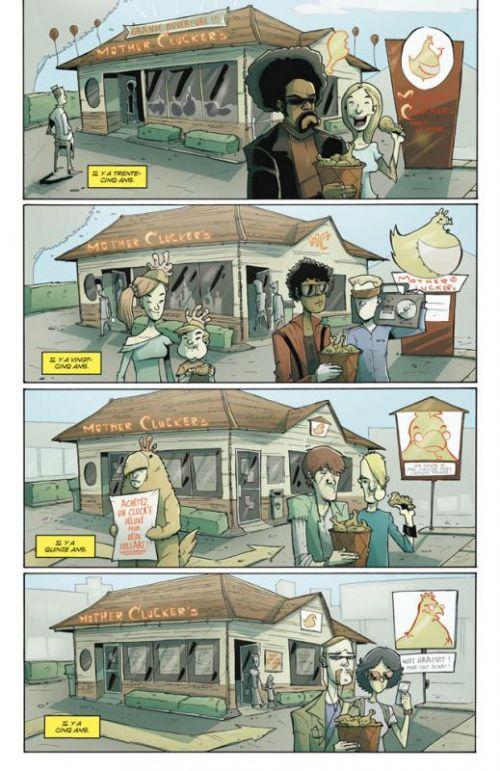 Tony Chu, détective cannibale T4 : Flambé (0), comics chez Delcourt de Layman, Guillory