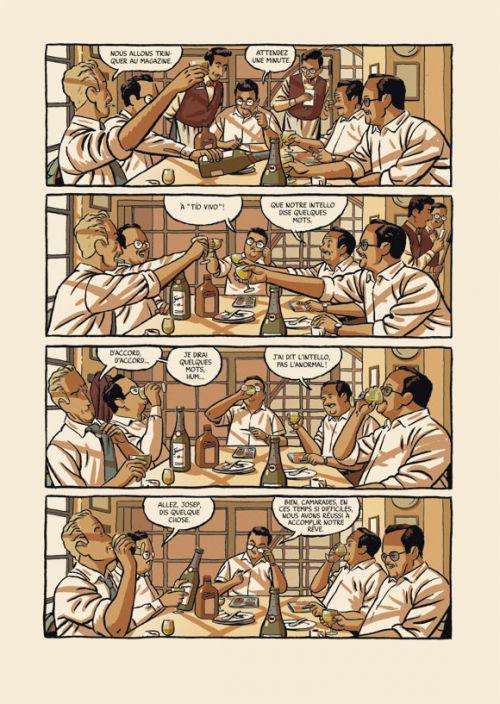 L'Hiver du dessinateur, bd chez Rackham de Roca