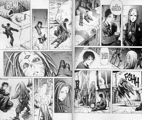 Blame ! – Edition simple, T2, manga chez Glénat de Nihei