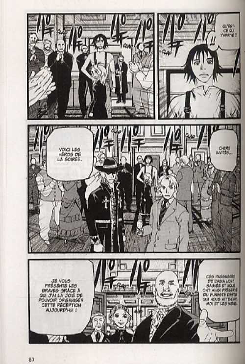 Peace maker T2, manga chez Glénat de Minagawa