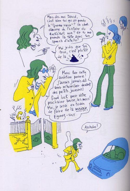 Haddon hall, bd chez Gallimard de Belhadj Kacem