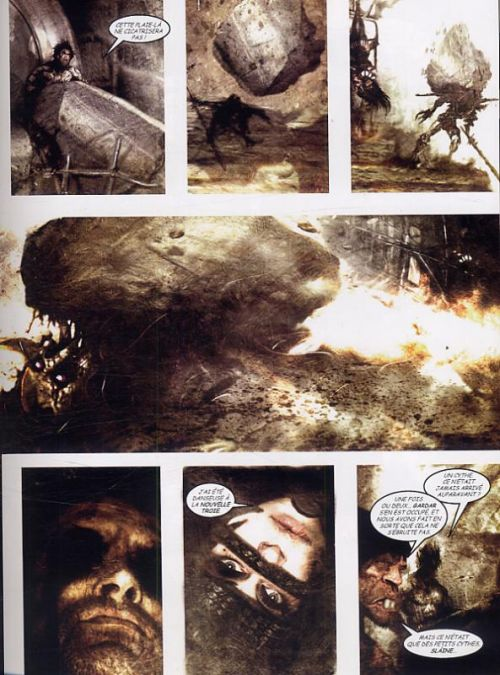 Slaine T3 : L'aventurier (0), comics chez Nickel de Mills, Langley
