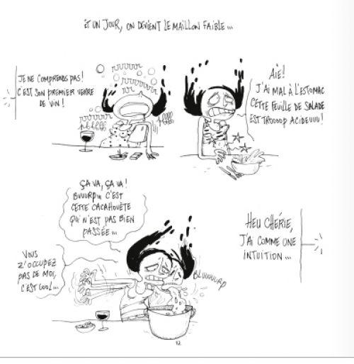 Mademoiselle T4 : L'arme foetale (0), bd chez Glénat de Rollin