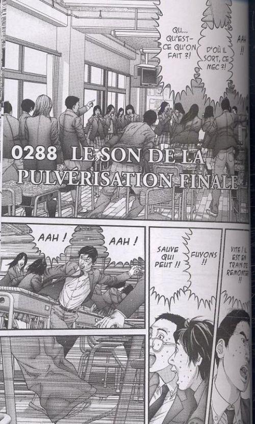 Gantz – 1e edition, T26, manga chez Tonkam de Oku