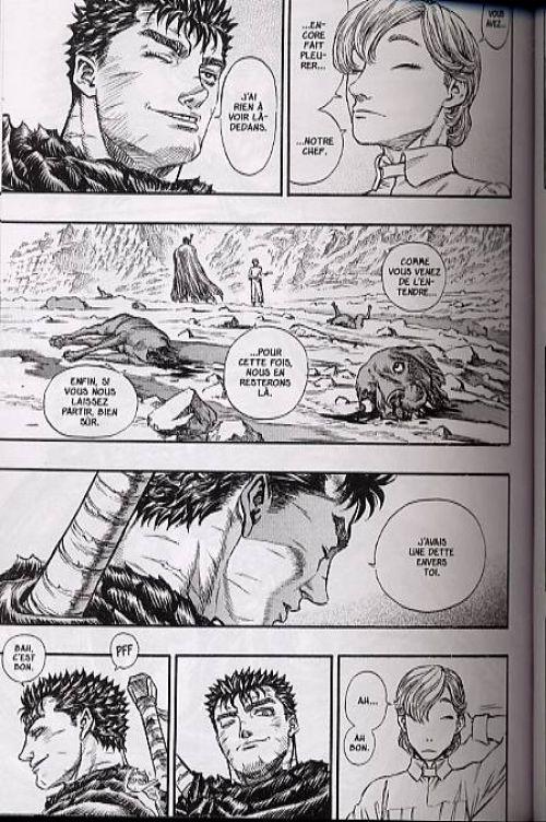 Berserk T17, manga chez Glénat de Miura