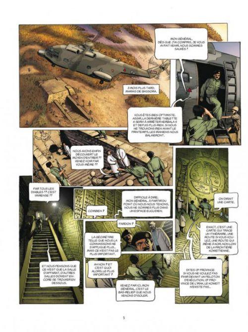 L'histoire secrète T25 : L'Ange paon (0), bd chez Delcourt de Pécau, Kordey, O'Grady