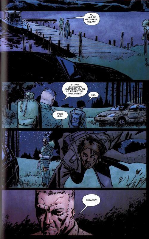 28 jours plus tard T5 : Au bout du chemin (0), comics chez Delcourt de Nelson, Peppino, Aragon, Woodard, Phillips