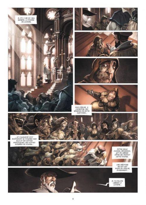 La licorne T4 : Le jour du baptême (0), bd chez Delcourt de Gabella, Jean