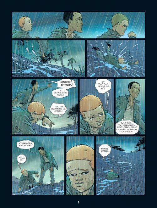 Les Innocents coupables T2 : La trahison (0), bd chez Bamboo de Galandon, Anlor