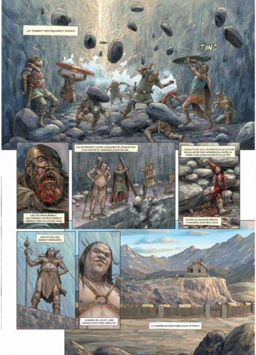 Les druides T6 : Crépuscule (0), bd chez Soleil de Istin, Jigourel, Lamontagne