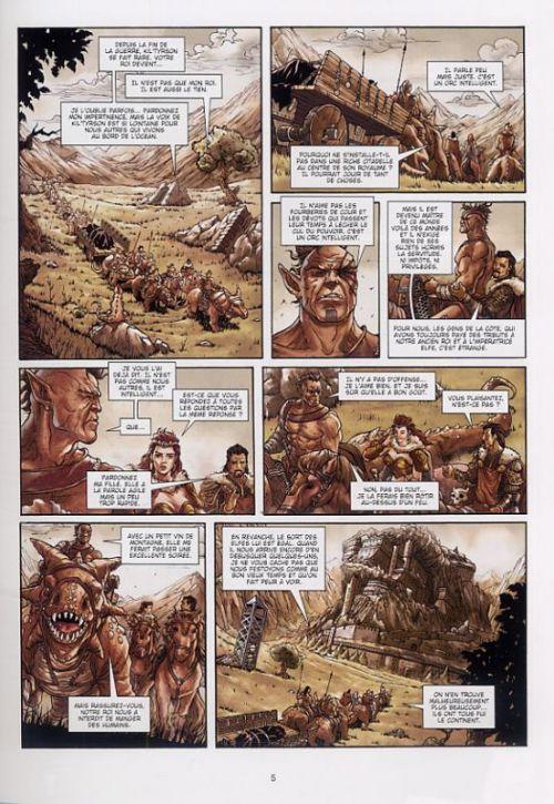 La guerre des orcs T2 : Guerre et Paix (0), bd chez Soleil de Peru, Lorusso, Digikore studio