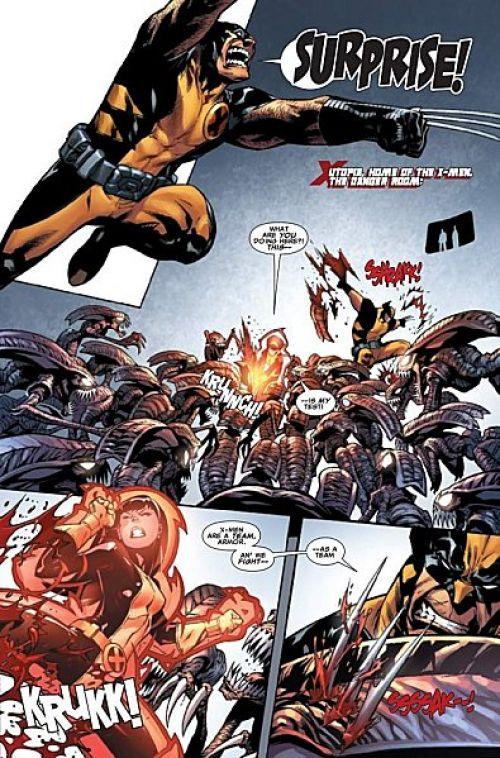 X-Men Universe – Revue V 1, T11 : Nation Deathlok (0), comics chez Panini Comics de Remender, Way, Gischler, Pearson, Ribic, Barrionuevo, Story, Wilson, Lacombe, Oback, Beredo