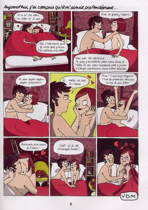 Vie de merde T7 : En couple (0), bd chez Jungle de Eldiablito, Elene