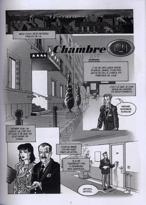 Chambre 121 : L'intégrale (0), bd chez Dynamite de Boccère, Igor