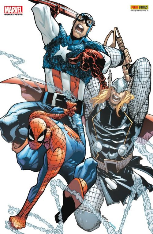Marvel Heroes – Revue V 3, T13 : La fin de l'innocence (0), comics chez Panini Comics de Gage, Gillen, Bendis, Braithwaite, Bachalo, Raney, Arreola, Cox, Ramos, McGuinness