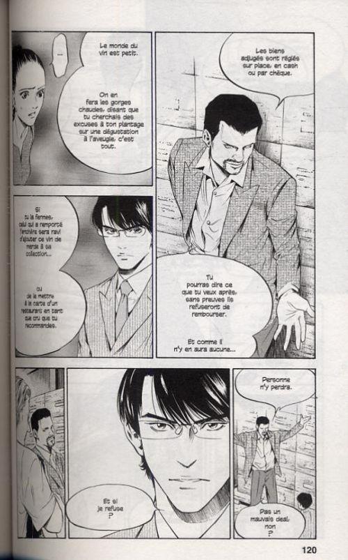 Les gouttes de Dieu T22, manga chez Glénat de Agi, Okimoto