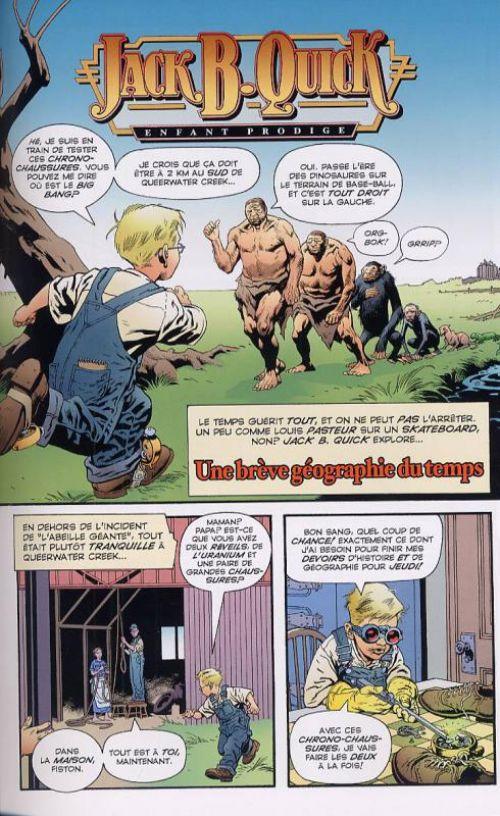 Jack B. Quick, comics chez Editions USA de Moore, Nowlan