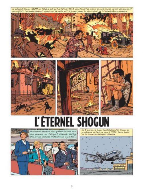 Lefranc T23 : L'éternel shogun (0), bd chez Casterman de Robberecht, Régric, Wesel