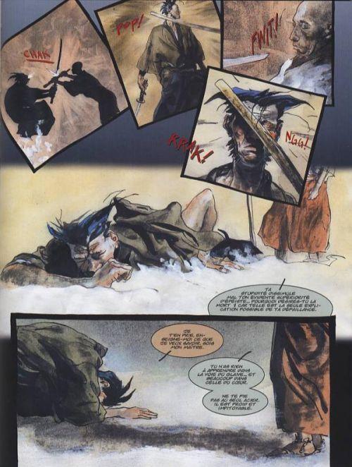 Wolverine - Netsuke T2, comics chez Panini Comics de Pratt