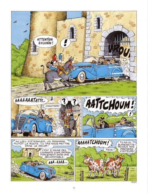 Sylvain et Sylvette T65 : Il faut sauver Castel-Bobêche (0), bd chez Dargaud de Bélom, Albaire